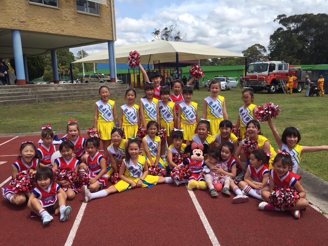 """子どもたちの元気いっぱいの声が響き渡る!Sydney North Kids Cheerleading Team""""さくらきっず""""へインタビュー!"""