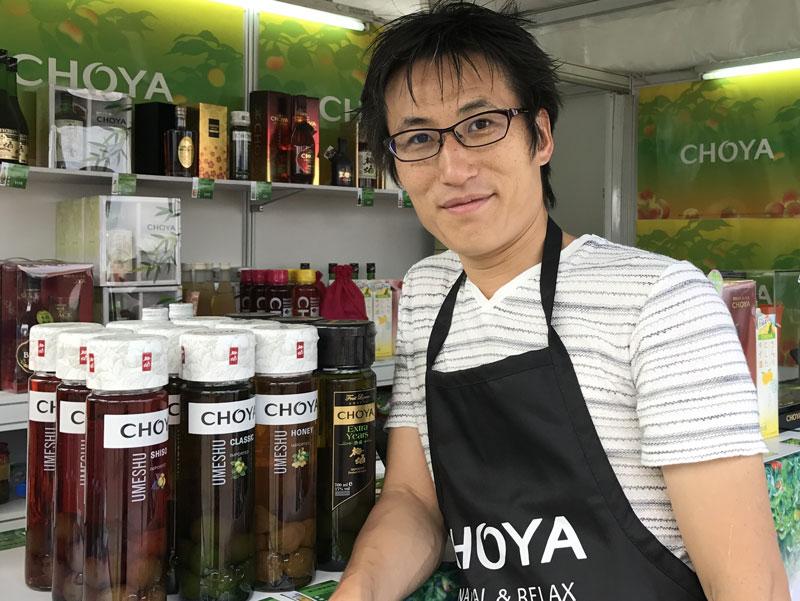 みんな大好き!チョーヤの梅酒で有名なチョーヤ梅酒株式会社の稲葉様へインタビュー!